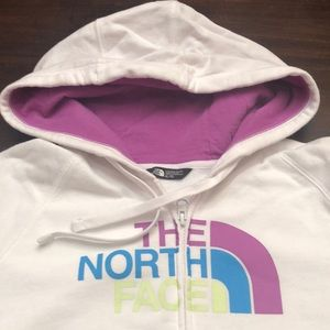The North Face hoodie.  Size XL